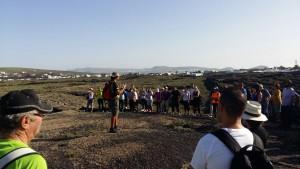 Senderismo en la semana del vino de Lanzarote