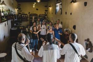 Brindis por los vinos de Lanzarote