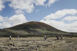 Senderismo entre los volcanes de Lanzarote