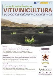 Curso de vitvinicultura ecologica biodinamica en Lanzarote 2017