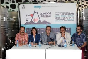 Presentación Sonidos Líquidos 2017 festival en Lanzarote