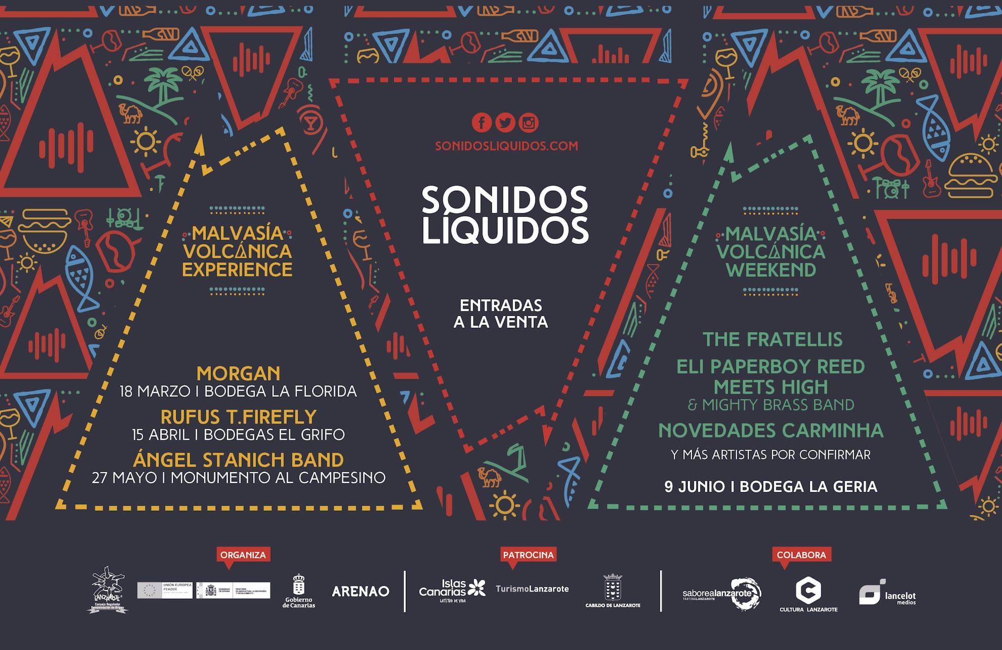 Festival enogastronómico Sonidos Líquidos música y vino de Lanzarote
