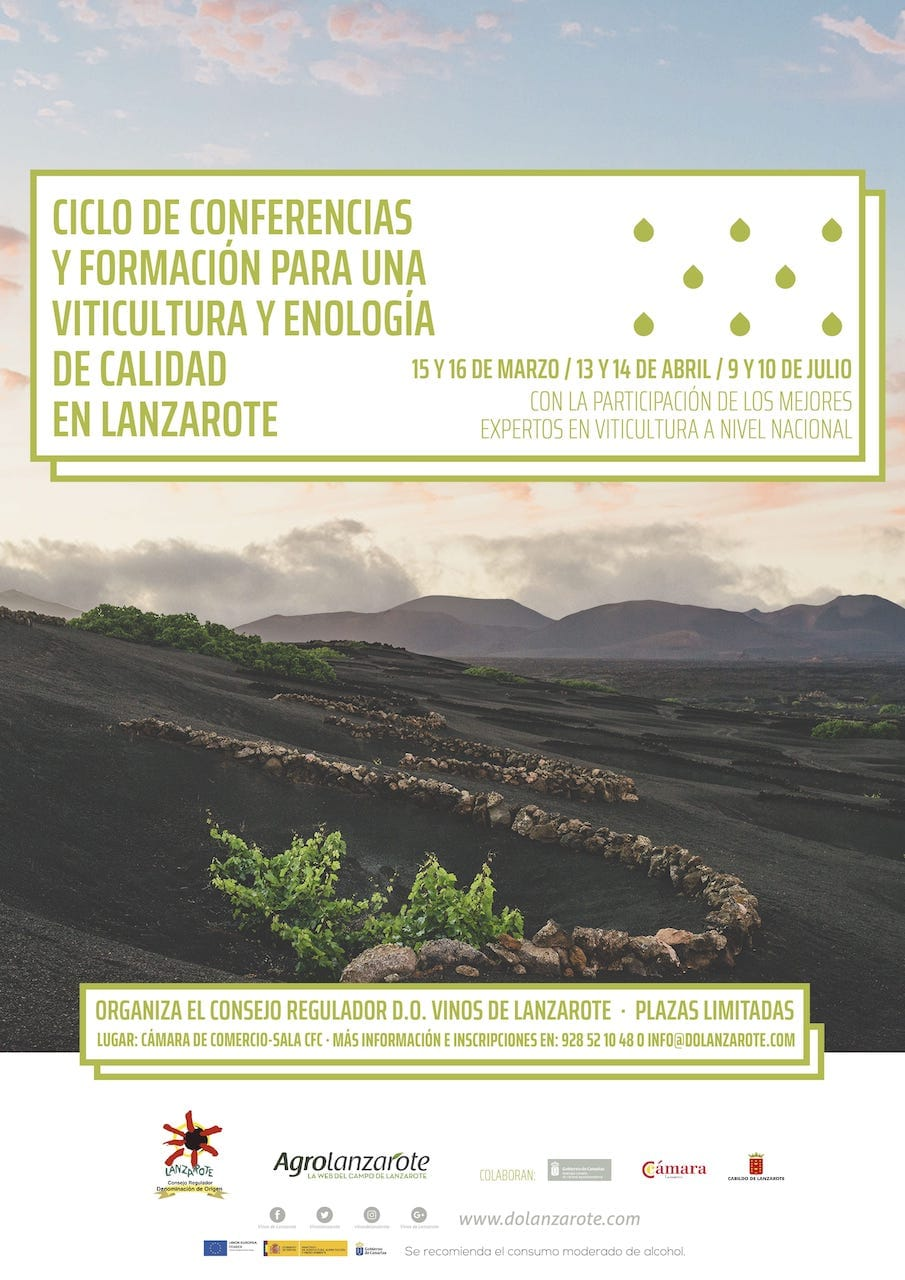 Ciclo-conferencias-de-viticultura-y-enología-ecológica-en-Lanzarote-2018