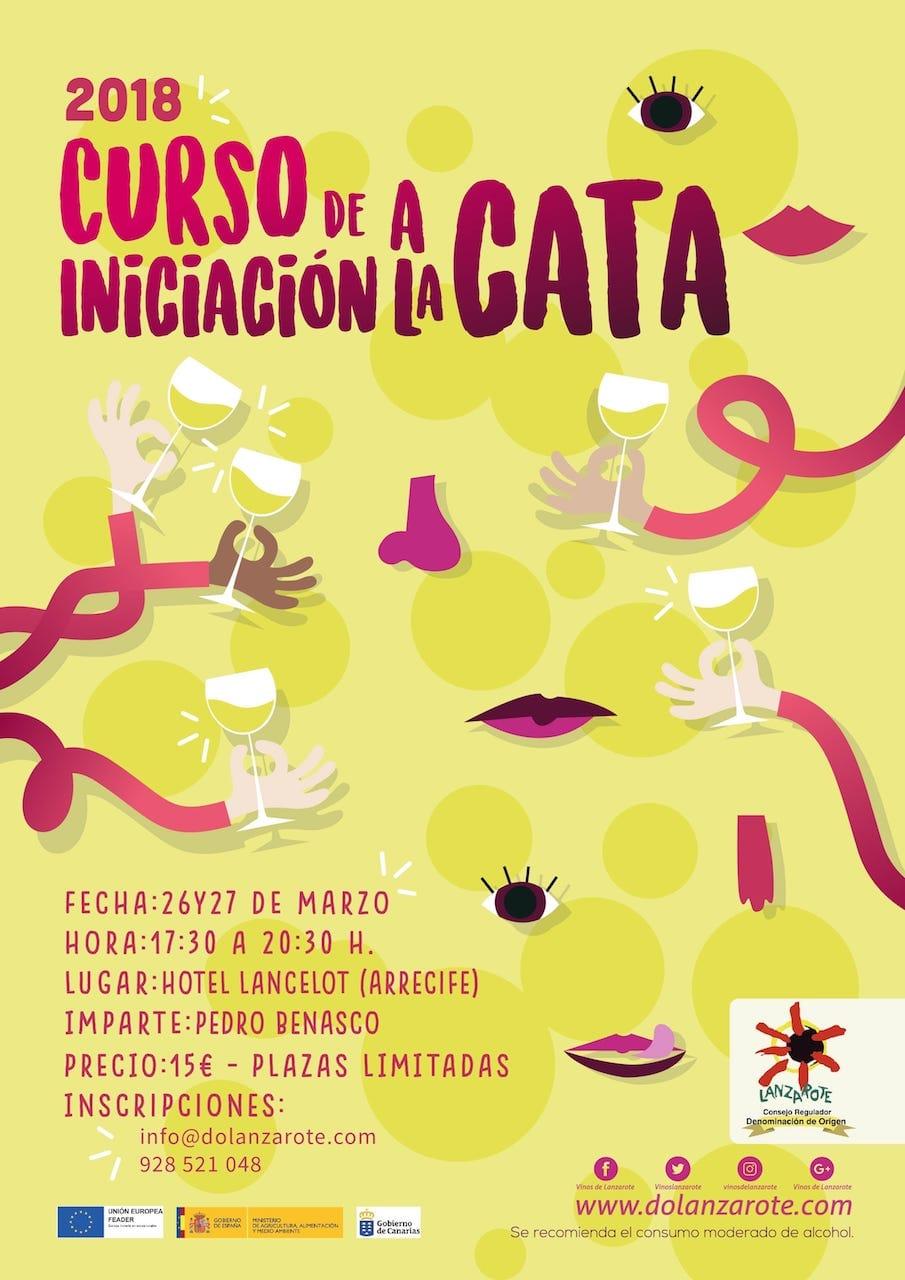 (Español) Segundo-curso-de-iniciación-a-la-cata-de-vinos-en-Lanzarote-2018