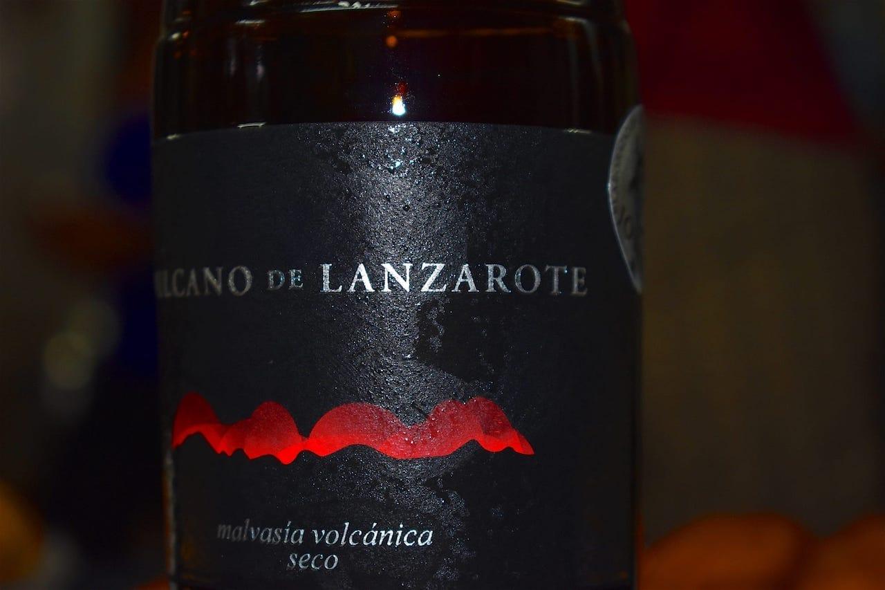 Vino Malvasía Volcánica Seco de Bodega Vulcano de Lanzarote Gran Oro en los Premios CINVE 2018