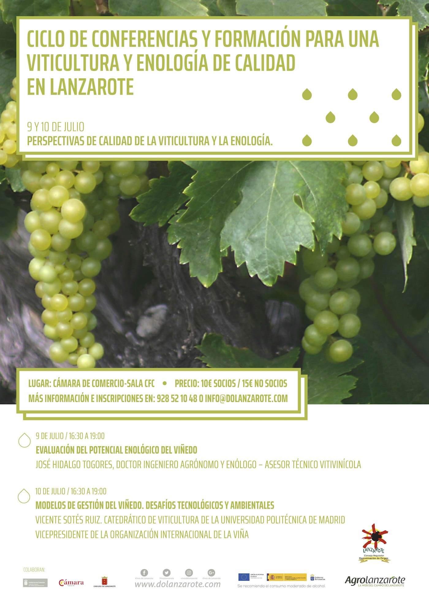 (Español) Tercera-jornada-ciclo-conferencias-de-viticultura-y-enología-ecológica-en-Lanzarote-2018