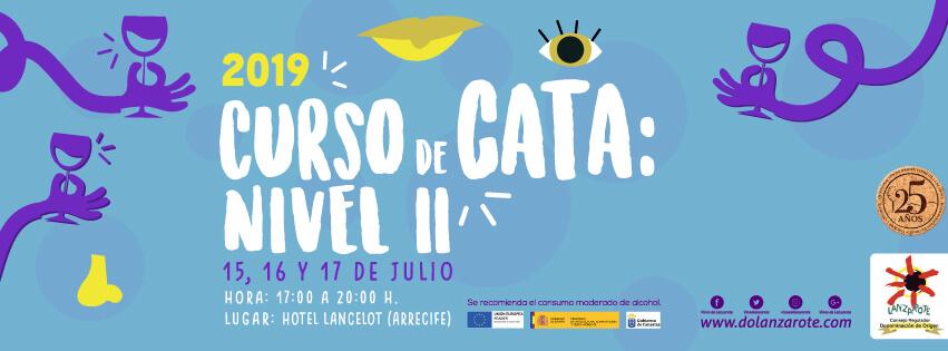 Curso de cata nivel II vinos de Lanzarote julio 2019