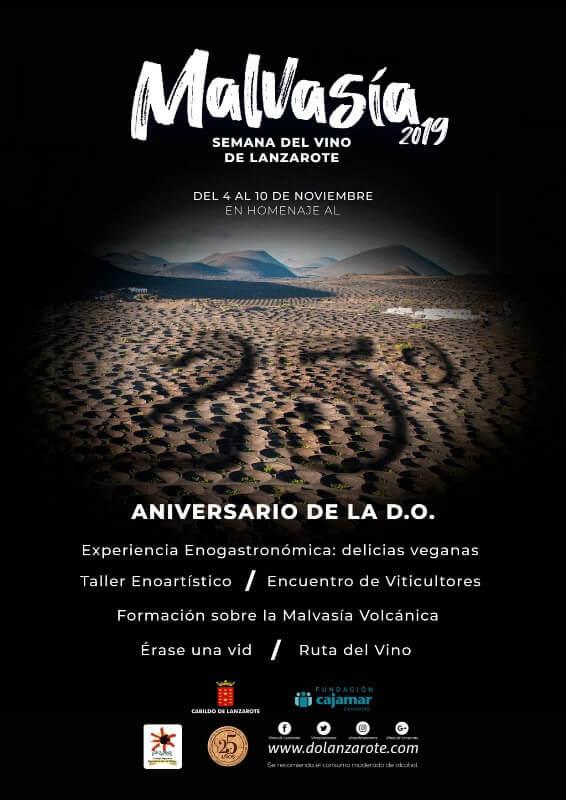 Cartel Semana Malvasía Lanzarote 2019