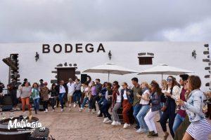 Fiesta en Bodega La Florida día europeo del enoturismo en Lanzarote 2019