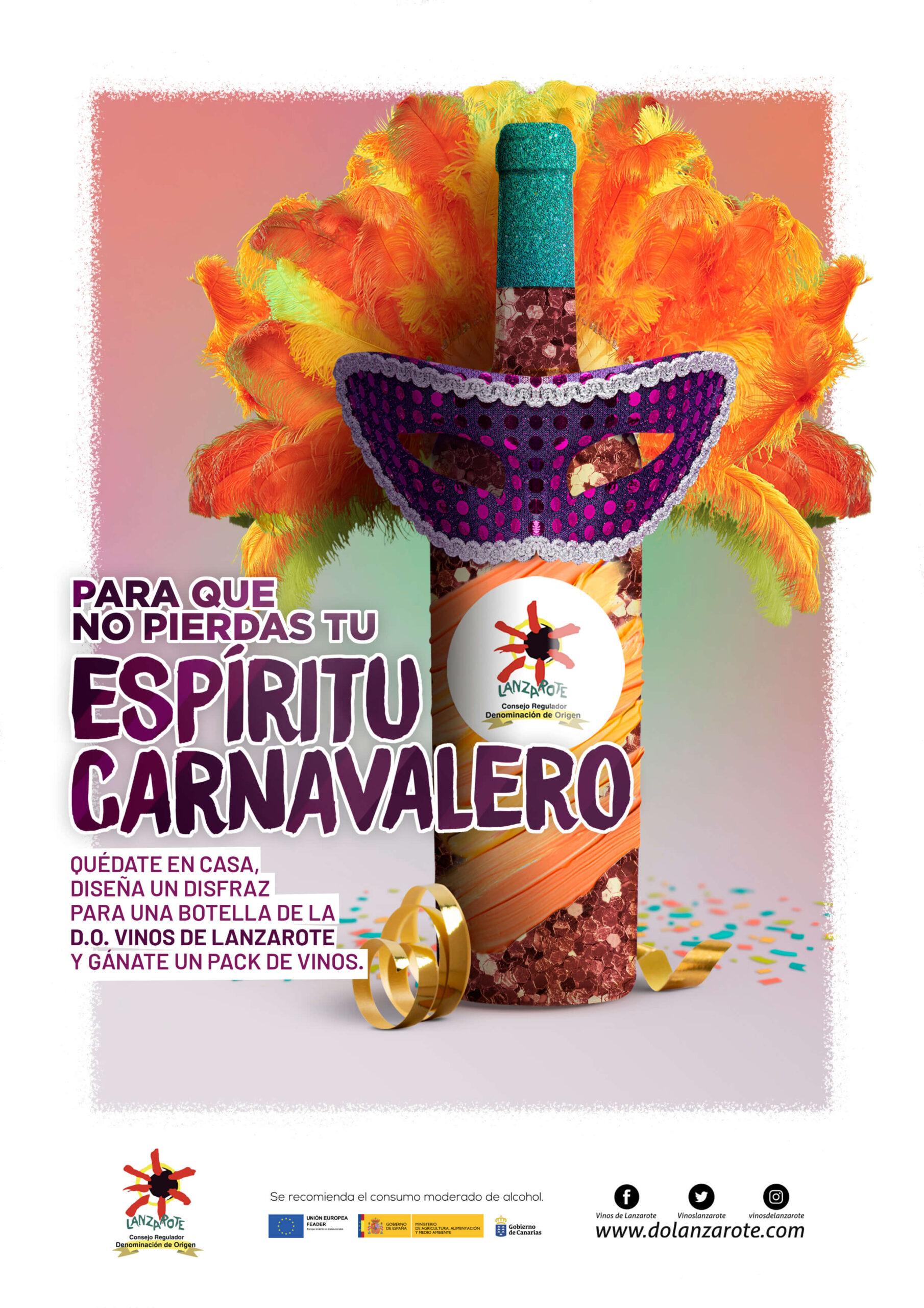 Sorteo de Carnaval 2021 Consejo Regulador de la Denominación de Origen Vinos de Lanzarote
