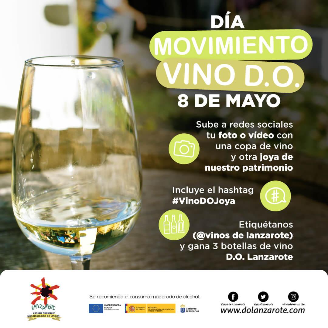 Sorteo Día Movimiento Vino DO Lanzarote 2021
